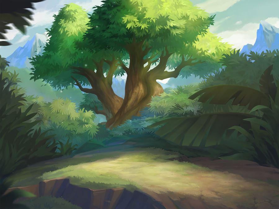 Древний лес